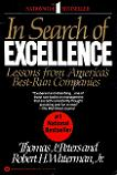 In Search of Excellence book by Thomas Peters & Robert Waterman