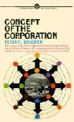 Concept of The Corporation book by Peter Drucker