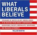 What Liberals Believe quotations book edited by Dr. William Martin