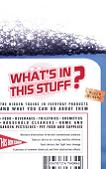 What's In This Stuff? Hidden Toxins book by Patricia Thomas