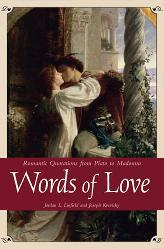 Words of Love / Romantic Quotations book edited by Jordan L. Linfield & Joseph Krevisky