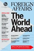 Foreign Affairs Magazine [est. 1922] subscription