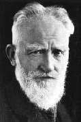 portrait of playwright & critic George Bernard Shaw [1856-1950]