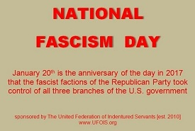 poster for National Fascism Day